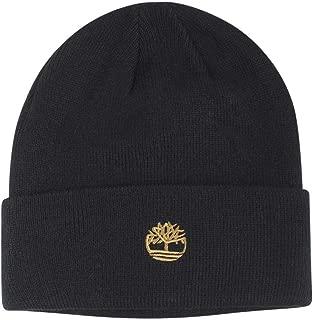 Men's Contrast Logo Knit Beanie Hat