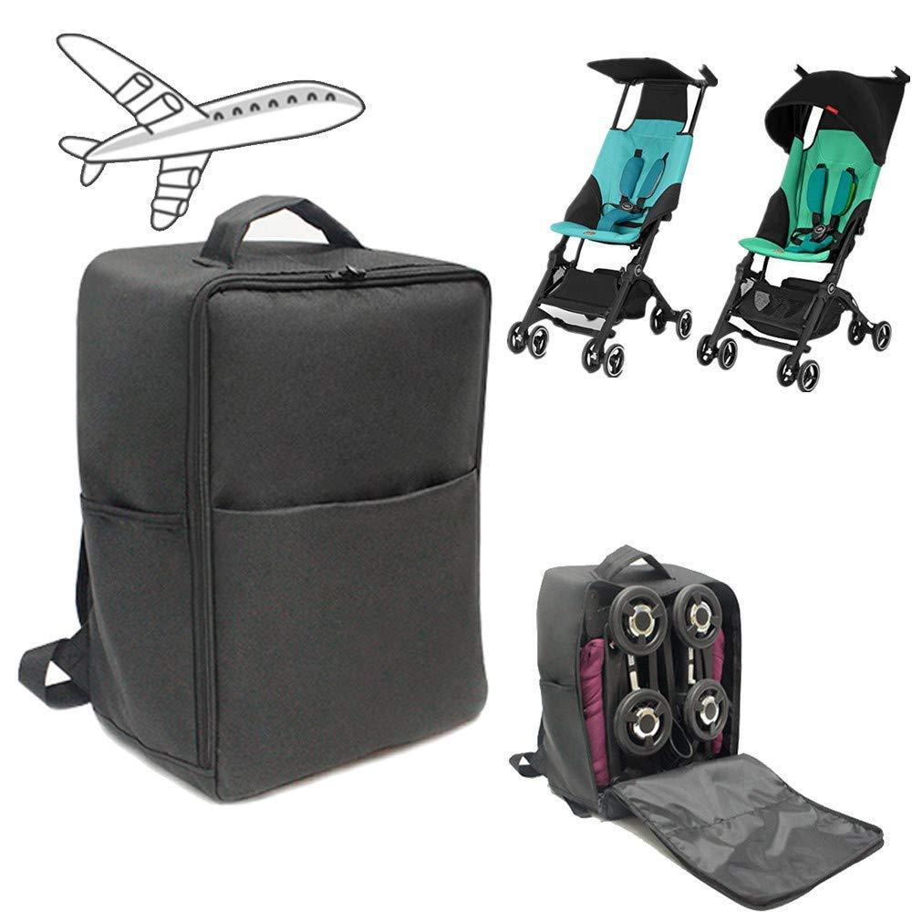 Stroller Gate Check Travel Bag Backpack Compatible for gb Pockit/Pockit+ Pockit Plus Lightweight Strollers