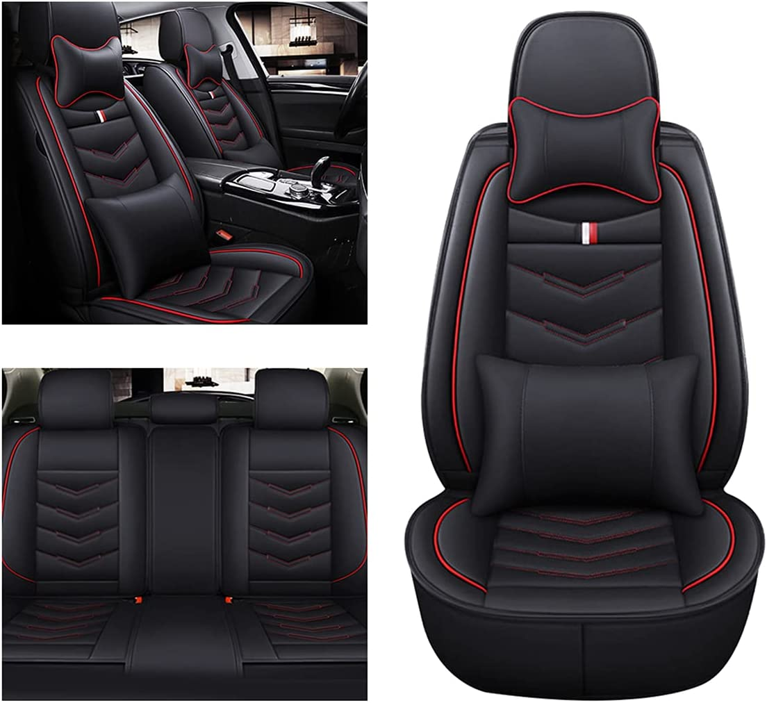Muchkey low-pricing Car Seat Covers for OFFicial shop Dodge Set SRT4 5-Seats Caliber Full