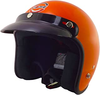 Core Helmets Hunter Safety Deluxe Open-Face Helmet (Orange, X-Large)