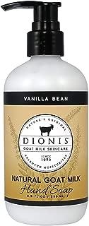 Dionis Goat Milk Skincare Hand Soap (Vanilla Bean, 8.5 oz)