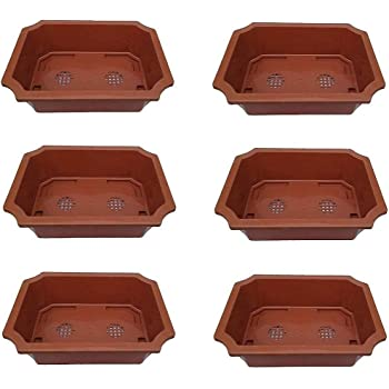 Truphe Bonsai Flower Pots - 14 inch Brown
