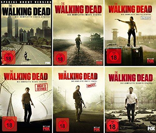The Walking Dead - Staffel 1-6 [Blu-ray]
