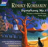 Symphony 3 / Overture on Russian Themes by Rimsky-Korsakov