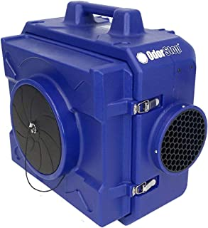 OdorStop OS500 - Heavy Duty HEPA Air Scrubber, 250-500CFM, 1/3 HP, GFCI Outlet, 25' Yellow Cord with Lighted End and Roto-Molded Unbreakable Housing