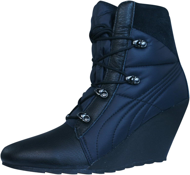 PUMA Karmin Bellows Wedge Womens Boots - shoes