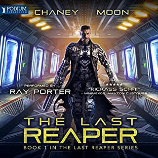 The Last Reaper audiobook cover art