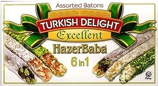 Hazer Baba Mixed Turkish Delight Assorted Batons, 350g
