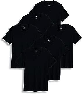 Men's T-Shirts Big & Tall Classic V-Neck T-Shirt - 6 Pack