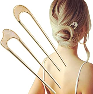 WIDGET HAIR PIN No hair accessories gold hair pin metal hair pin hair stick bun holder | hair pin white hair pin black hair pin 2