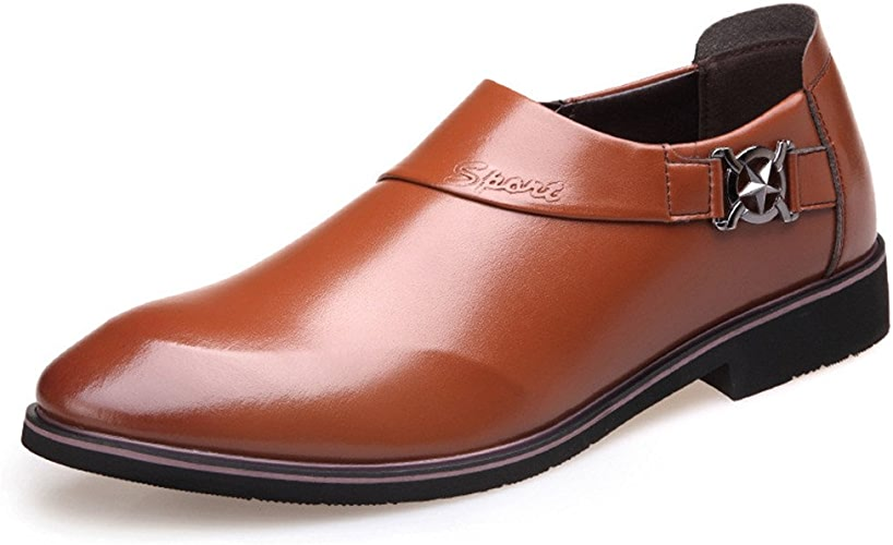 Des hommes en cuir chaussures chaussures souliers,marron,Forty,