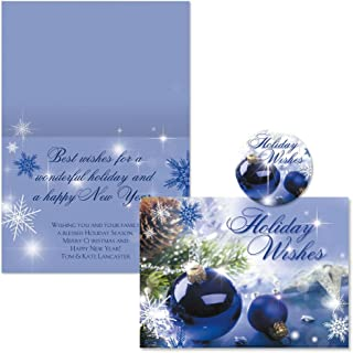 Best thin blue line christmas cards Reviews