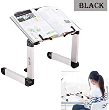 Adjustable Book Stand, Height and Angle Adjustable Ergonomic Book Holder with Page Paper..