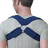 FLA Orthopedics Prolite Deluxe Clavicle Support, Navy, Medium