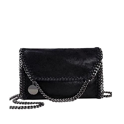 1671ec50c829 Mioy Women s Solid color handbag Mini Soft PU Leather Crossbody bag Casual  Chain Bag shoulder Bag