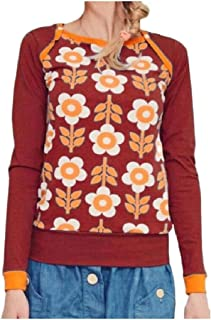 HEFASDM Women Blouse Fall Winter Floral Spring Long Sleeve Trim-Fit Cozy Tees
