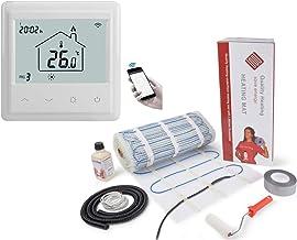 Quality Heating - Esterilla eléctrica para suelo radiante con termostato WiFi y aplicación
