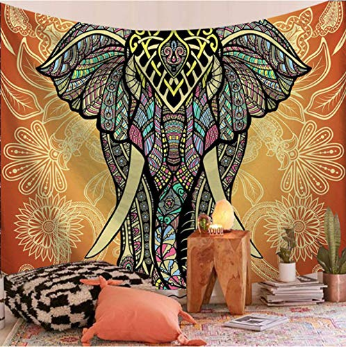 CARPET-STORE Tapiz de Mandala Indio para Colgar en la Playa, Manta, Manta, Tienda de campaña, colchón de Viaje, Tapiz Bohemio para Dormir