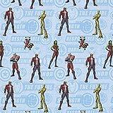 "Cretonne Lizenzstoff ""Guardians of the Galaxy""   Marvel"