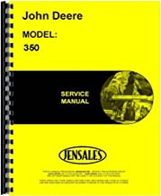 New Service Manual for John Deere 350