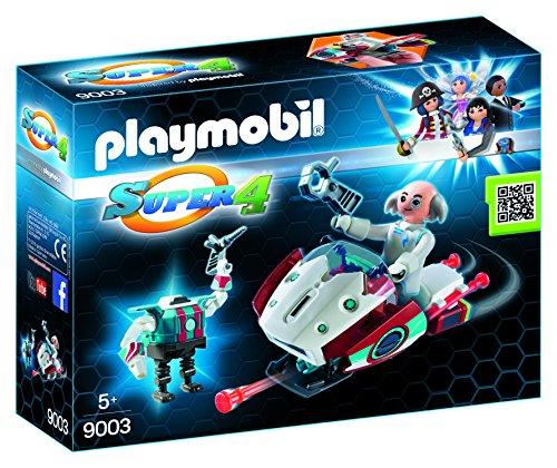Playmobil Super 4 - Skyjet com Dr. X e Robot - 9003