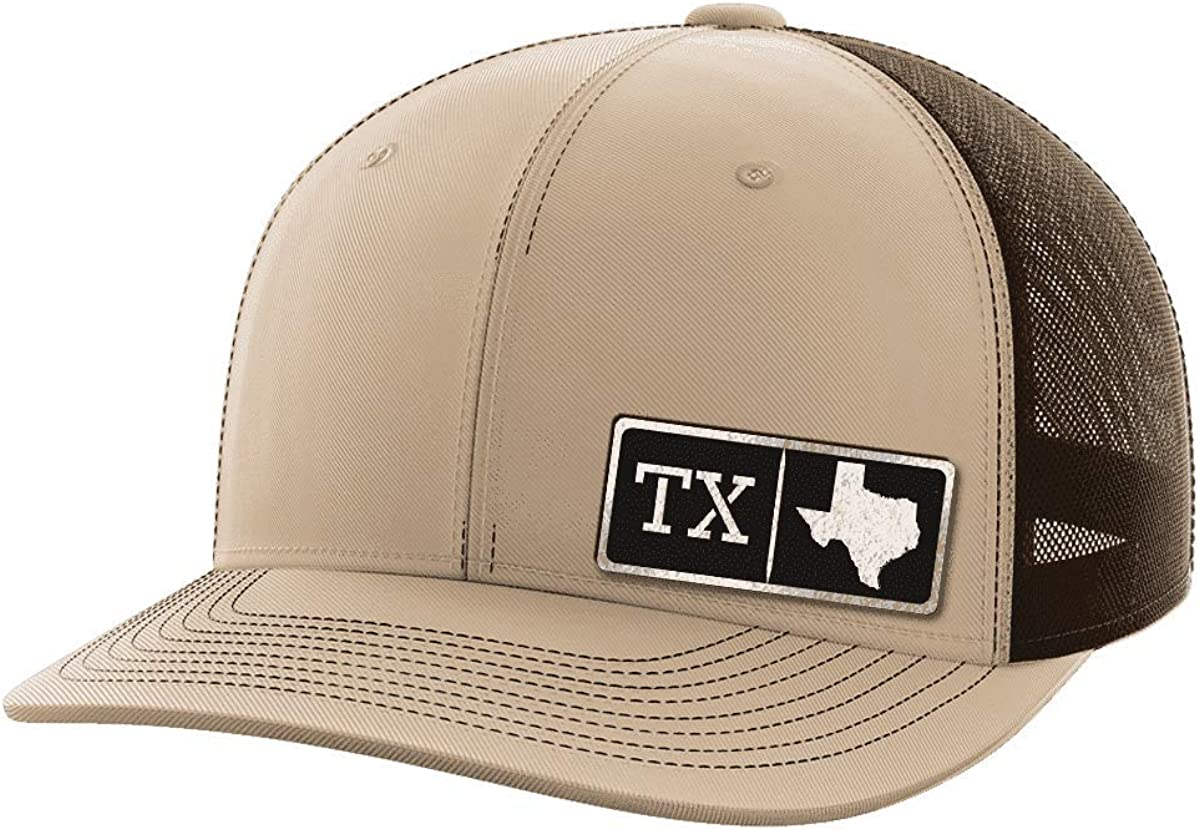 Texas Homegrown Black Patch Hat