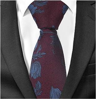 ff9e9a055339 7 · Mens Novelty Paisley Floral Ties Jacquard Woven Formal Wedding Designer  Necktie