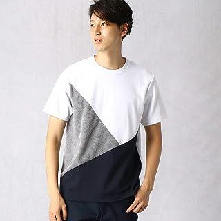 (コムサ メン) COMME CA MEN パイルジャカードクルーネックTシャツ 07-42TN04-109