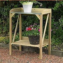Amazing 8 Best Wooden Potting Benches 2019 Edition Diy Garden Interior Design Ideas Grebswwsoteloinfo