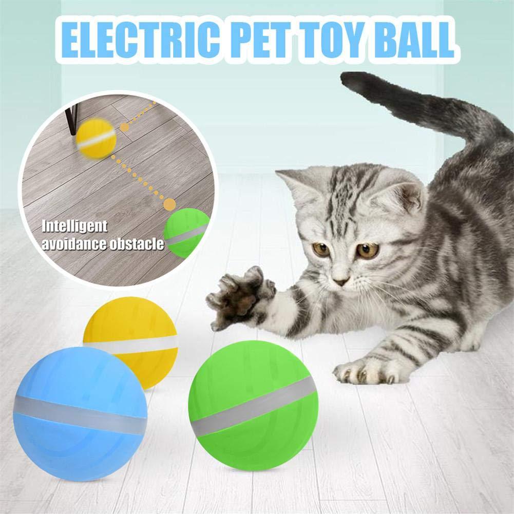 aheadad Pelota Interactiva para Mascotas, Pelota Interactiva Gato ...