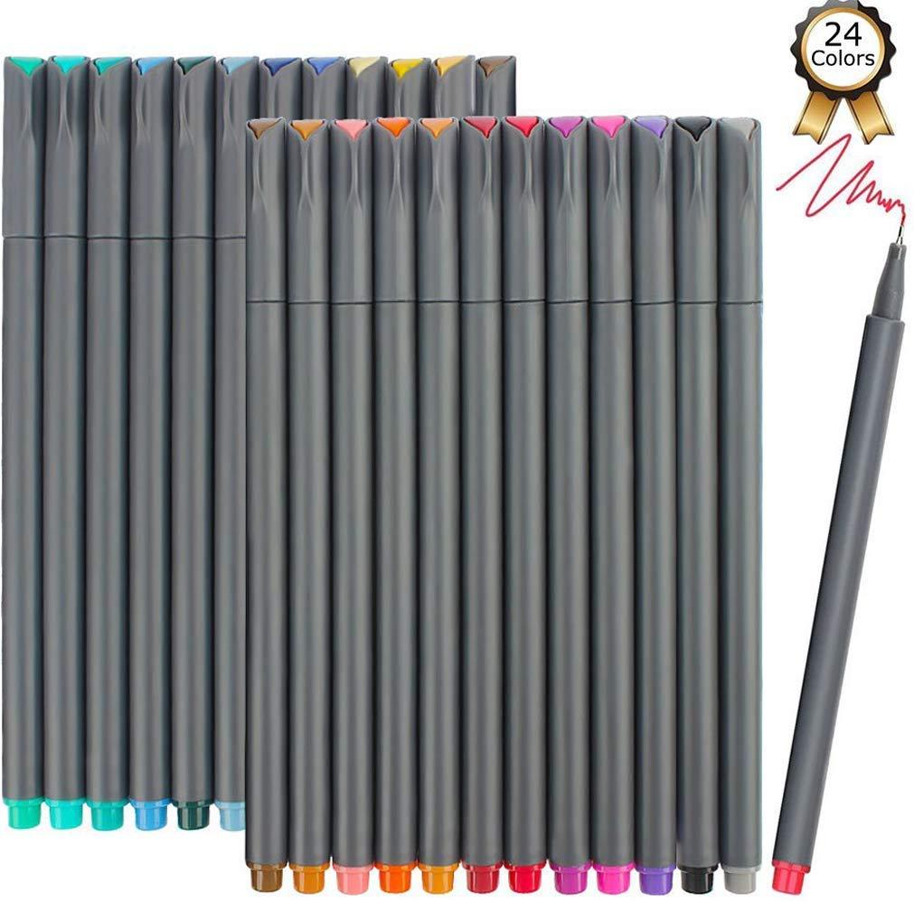iBayam Fineliner Journaling Calendar Coloring