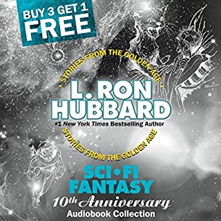 Sci-Fi Fantasy 10th Anniversary Audiobook Collection audiobook cover art