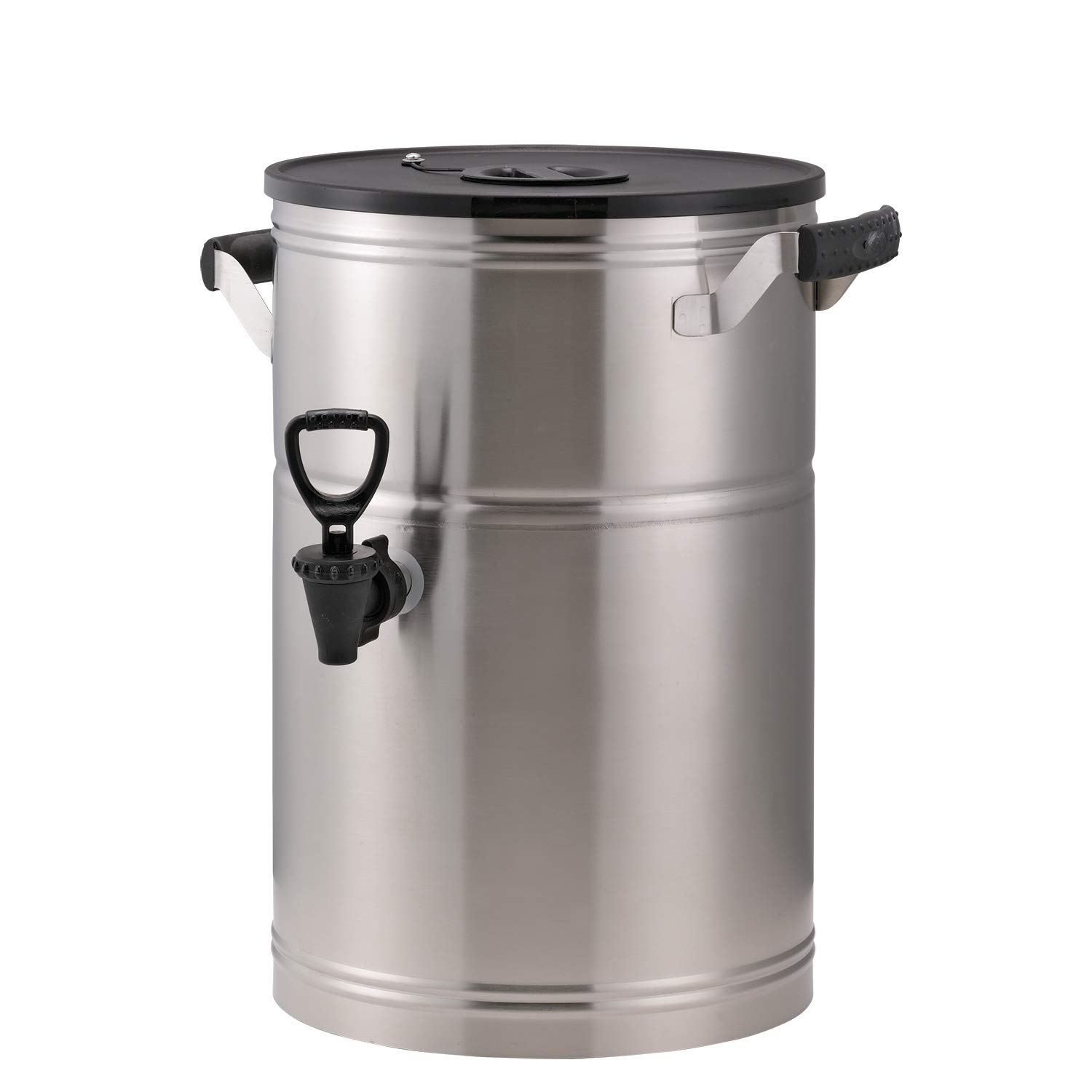 Sale special Award price Service Ideas ITS3GPL Round Tea 3 Gallon Stainless Steel Urn