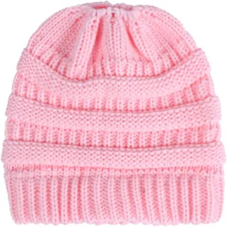 ba8a28e0b29 LEXUPA Women Baggy Warm Crochet Winter Wool Knit Ski Beanie Skull Slouchy Caps  Hat