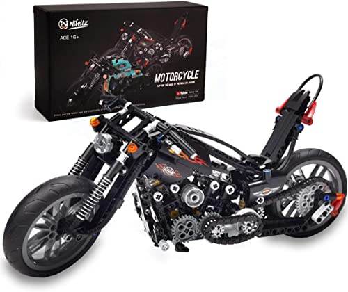 discount Nifeliz Knuckle Chopper Motorcycle Building Kit online (451 popular Pieces) online sale