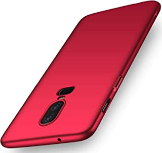 """Case Compatible OnePlus 6 6.28"""" Hard Plastic PC Phone Case Ultra-Slim Shockproof Anti-Scratch Premium Protective Back Cover Simple Fashion Design Shell for OnePlus 6T 6.41"""" 2018"""