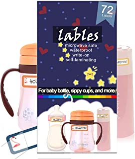 name stickers for baby bottles