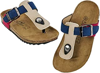 Hopscotch Boys PU Thong Sandals - Ivory