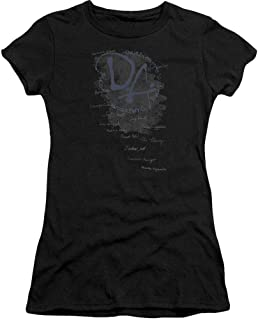 Harry Potter Dumbledore's Army Short Sleeve Junior Sheer Black