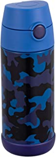 Snug Kids Water Bottle - insulated stainless steel...