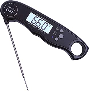 AUSELECT Meat Thermometer Digital Food Cooking Thermometer for Kitchen, Super-Fast Read, Backlight and Calibration Functio...
