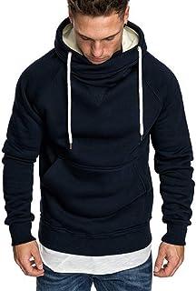 Men Fleece Hoody Hoodie Pullover Hooded Sweatshirts Casual Long Sleeve Jumpers Top M-3XL