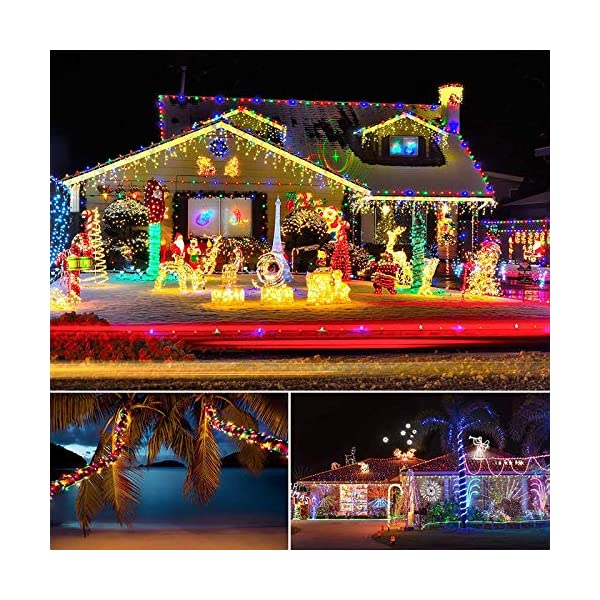 LED Fairy Rope String Lights - Liwiner USB Powered 33FT 100 LED String Light with Remote Timer 8 Mode Dimmable Strip… 6