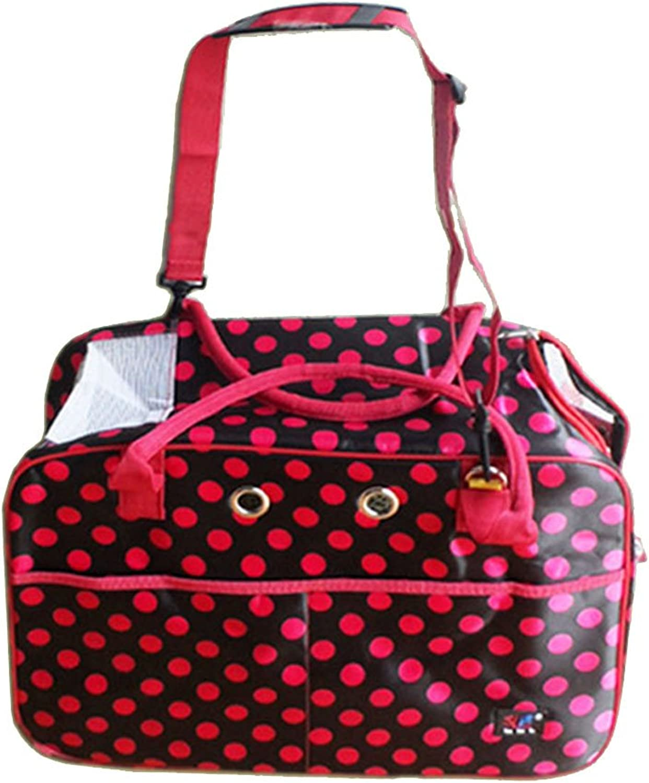 Outdoor Portable Pet Messenger Bag Dog Cat Travel Carrier Cage Lightweight Pet Carrier Crate