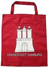 City Souvenir Shop Stoff-Tasche Hamburg Wappen