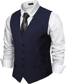 5c3007a255 Amazon.it: Blu - Gilet / Abiti e giacche: Abbigliamento