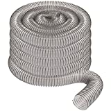 4' x 50' CLEAR PVC DUST COLLECTION HOSE BY PEACHTREE WOODWORKING PW377