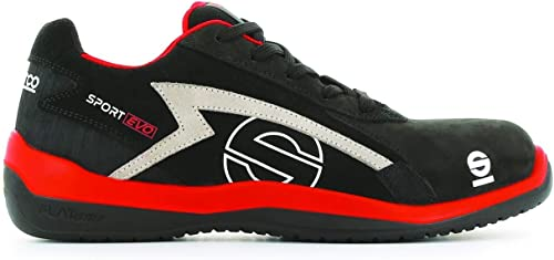 Sparco S0751648RSNR Hauszapatos Sport EVO negro Talla 48
