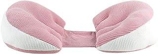 Oreiller de soutien de grossesse de dormeur latéral, oreillers de soutien de ventre de maternité de double cale en forme d...