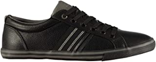 Soviet Mens Stripe Trainers Sneakers Shoes Lace Up Padded Ankle Collar